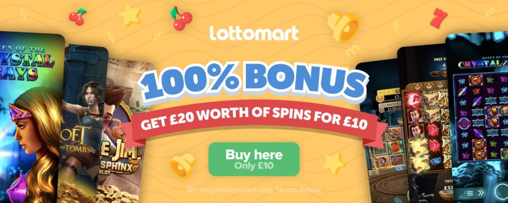 lotto mart welcome bonus review