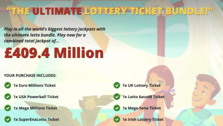 GiantLottos.com – Giving you the opportunity the play the worlds largest lotteries for half price