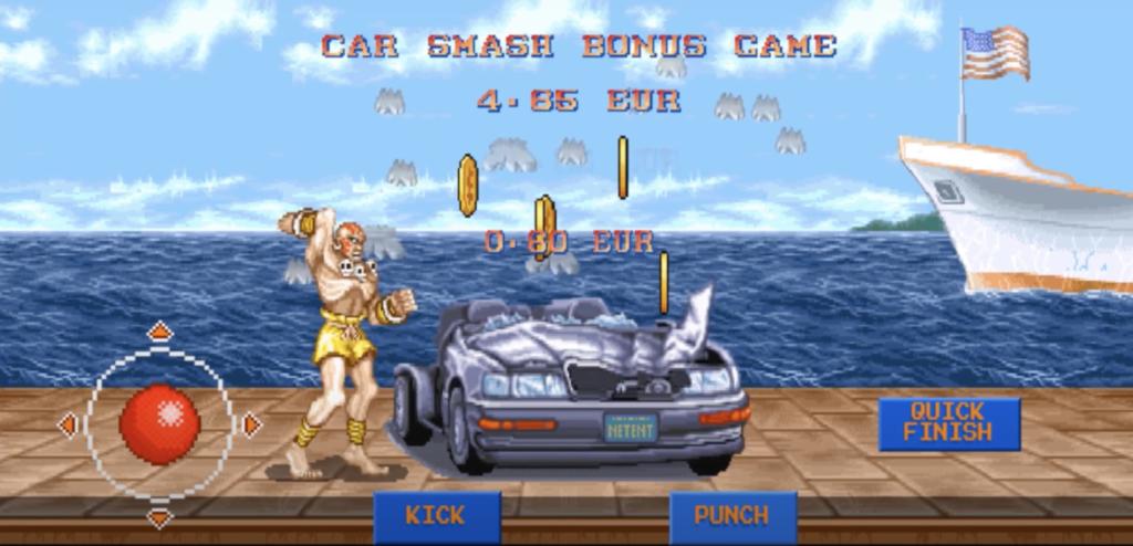 street fighter 2 bonus feature