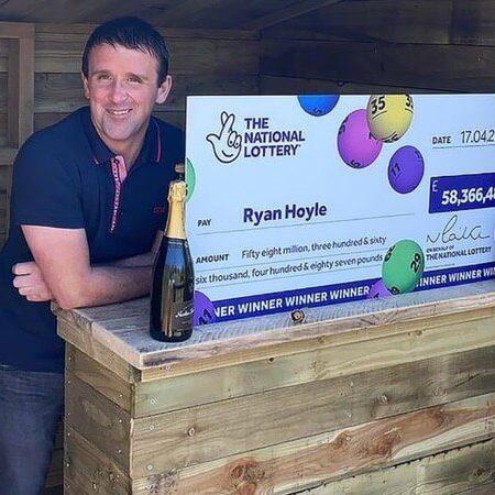 Self-Employed Brit Wins £58,000,000 EuroMillions Lottery Jackpot