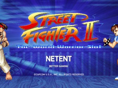 NetEnt Street Fighter II: The World Warrior Slot