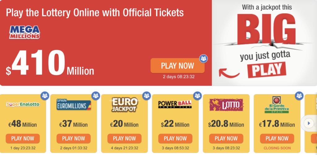 online lottery uk