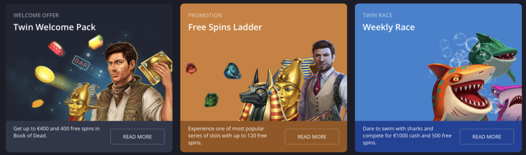 Twin casino new promotions