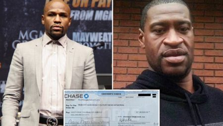 Floyd Mayweather to Pay for George Floyd's Funeral Expenses
