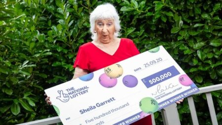 Gravesend Great-Granny Wins £500,000 In National Lottery Thunderball Game