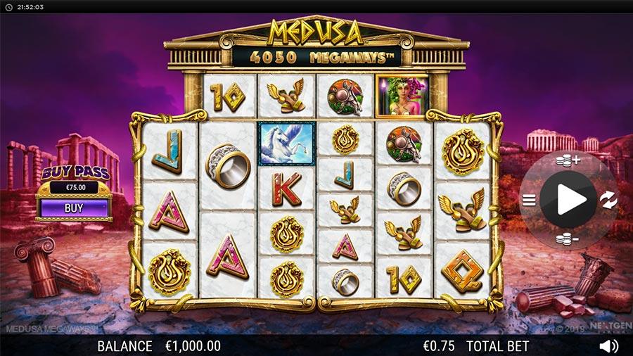 Medusa Megaways Bonus Buy