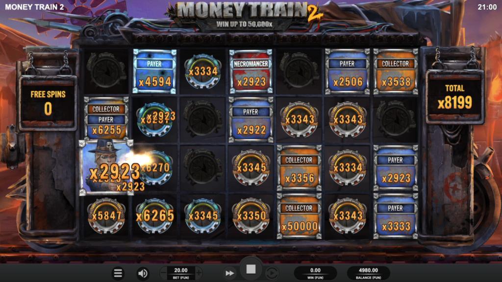 Money Train 2 bonus buy