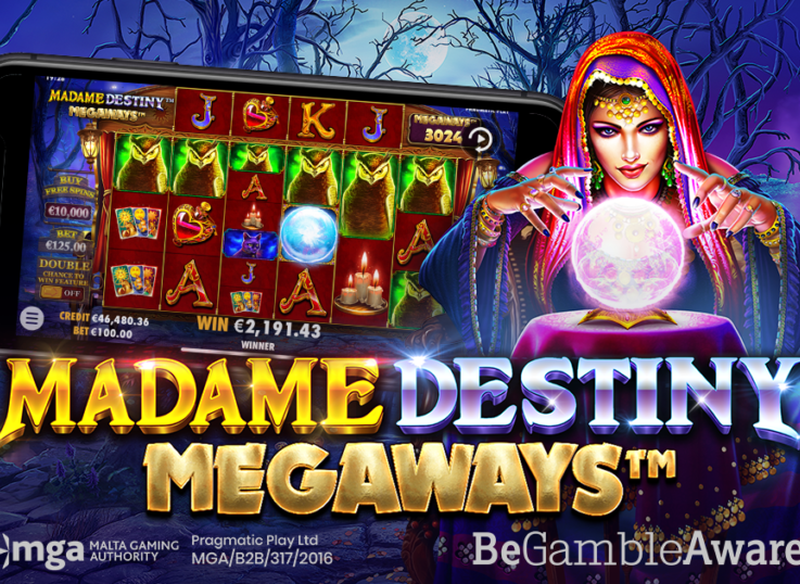 Pragmatic Play Delivers Madame Destiny Megaways and Congo Cash